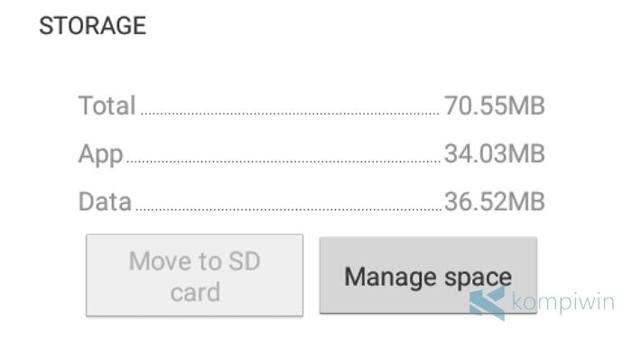 cara pindahkan aplikasi android ke sd card