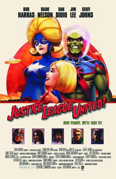 Justice League United / Mars Attacks