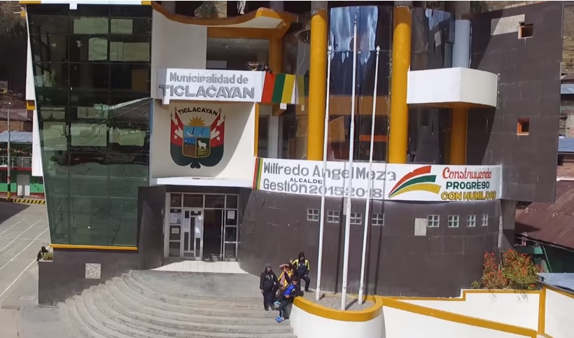 Municipalidad Distrital de Ticlacayan (Pasco)