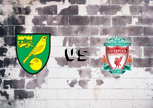 Norwich City vs Liverpool  Resumen y Partido Completo