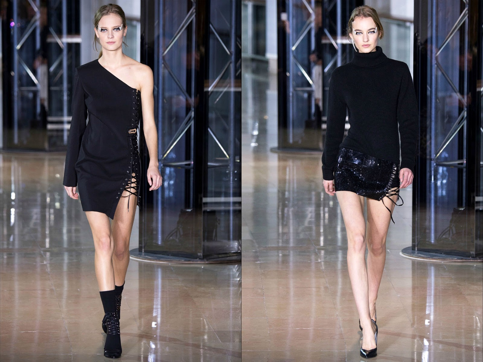 Eniwhere Fashion - Anthony Vaccarello Spring Summer 2016