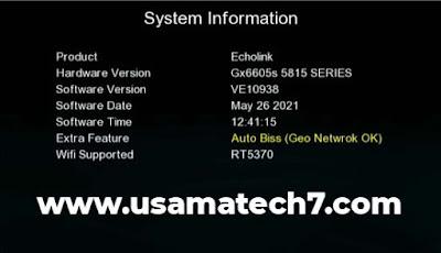 GX6605S 5815 V4.1 New Software 2021 Download