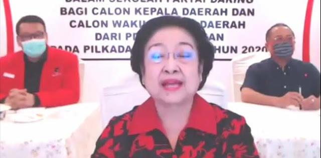 Ingatkan Cakada Tidak Korupsi, Megawati Ngaku Sedih Kalau Kader PDIP Tercokok KPK