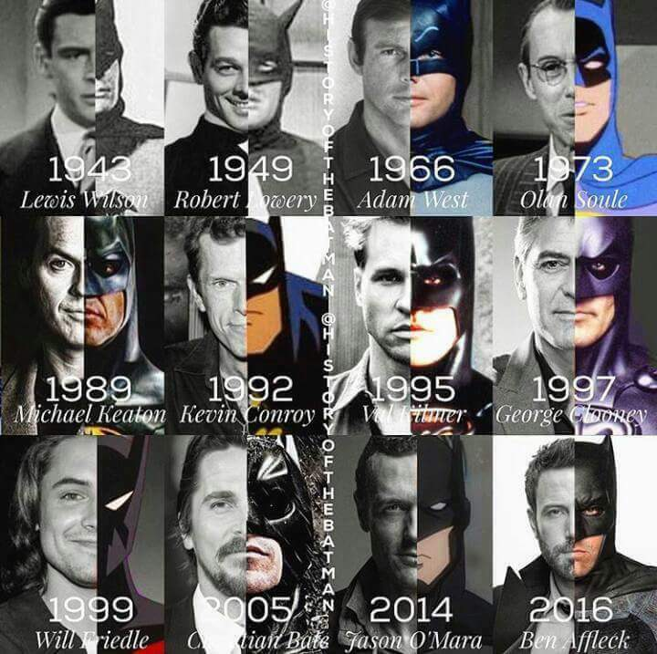 Batman - throught history