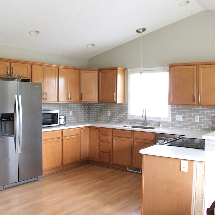 Degrease Kitchen Cabinets: It's A Grandville Life : Painting Kitchen Cabinets: Part 1