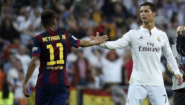 Real Madrid Neymar Cristiano Ronaldo