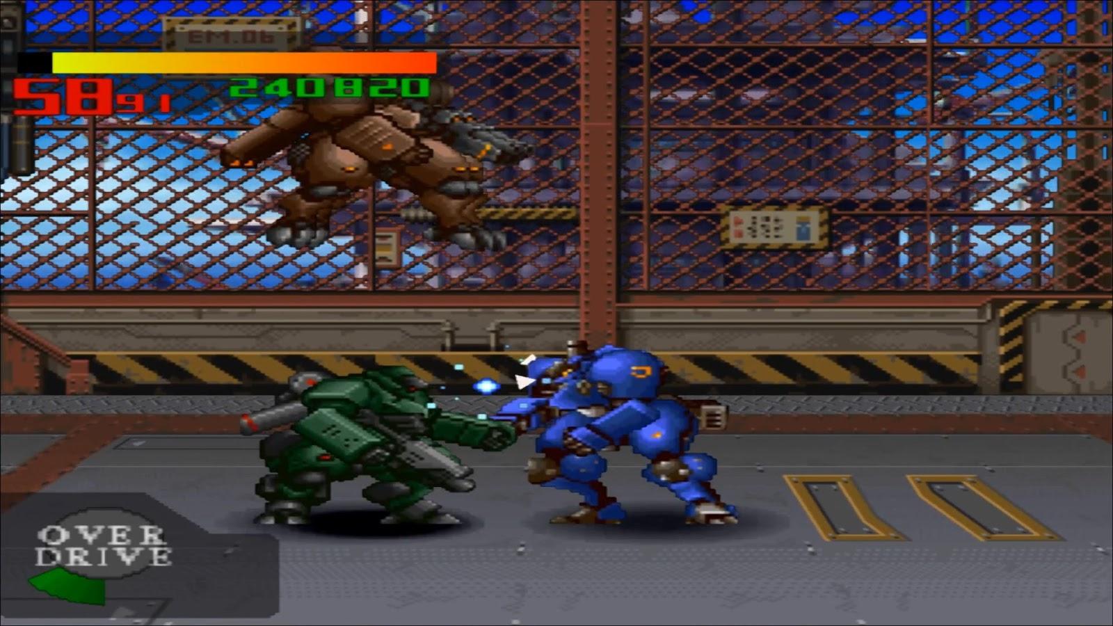 ps1 beat em up