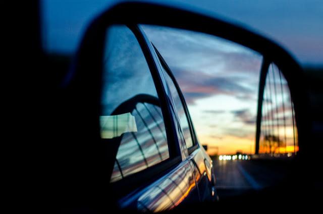 слепая зона автомобилей зеркала заднего вида