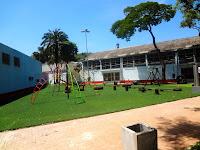 Playground no Centro Esportivo Tietê em São Paulo