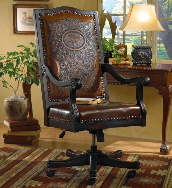 Cream Leather Accent Chairs Lift Chair Recliner Medicare Eye For Design: Decorating The Western Style Home