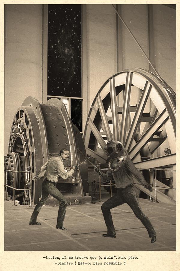 ©STAB - La Guerre dans les Etoiles. Collage | Star Wars