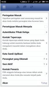 10 cara Mudah menonaktifkan fb sementara lewat hp Android