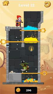 Hero Rescue Puzzle Game online de resgate