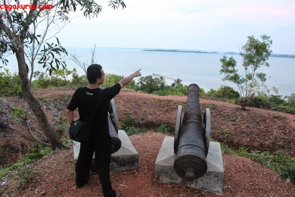 Meriam di Pulau Penyengat