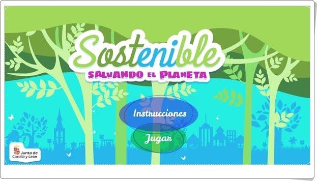 """""""Sostenible. Salvando el Planeta"""" (Juego Mediambiental)"""
