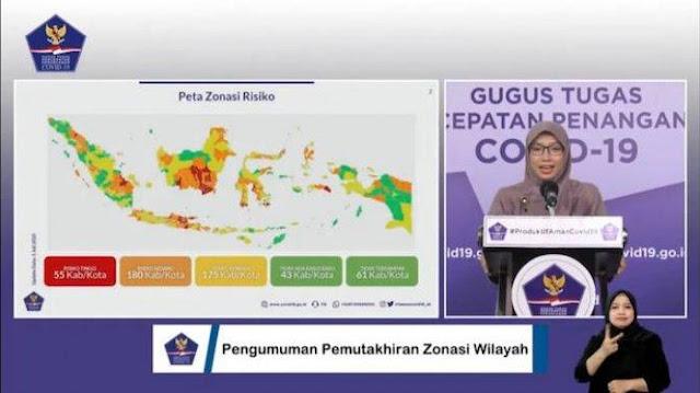Daftar Daerah Kabupaten dan Kota Zona Hijau Yang Diizinkan Gugus Tugas dan Kemendikbud Membuka Sekolah Aceh Hingga Papua