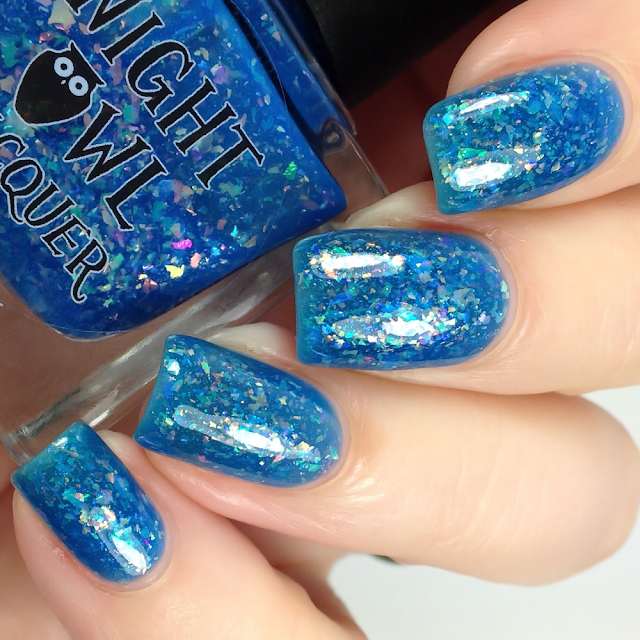 Night Owl Lacquer-There Is Nowhere You Could Go That I Won't Be With You