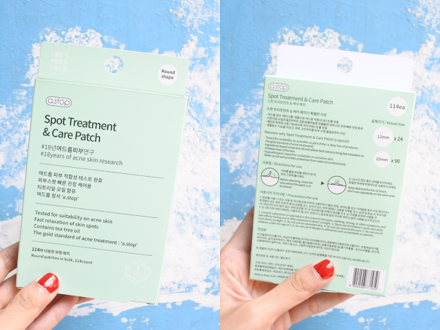 a.stop Spot Treatment & Care Patch