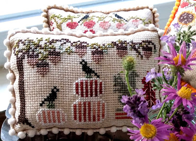 pin cushion pillow halloween fall autumn