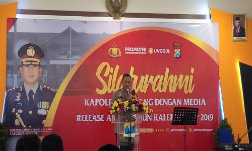 """Kapolres Malang AKBP Yade Setiawan Ujung,S.H.,S.I.K.,M.Si : Polres Malang Memiliki Implementasi Polri."