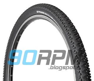 Foto d'insieme del copertone per bicicletta B'Twin All Terrain Dry 1