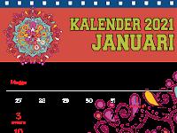 Kalender 2021 Dengan Adobe Ilustrator - Dikdas TIK BLK Komunitas 2021