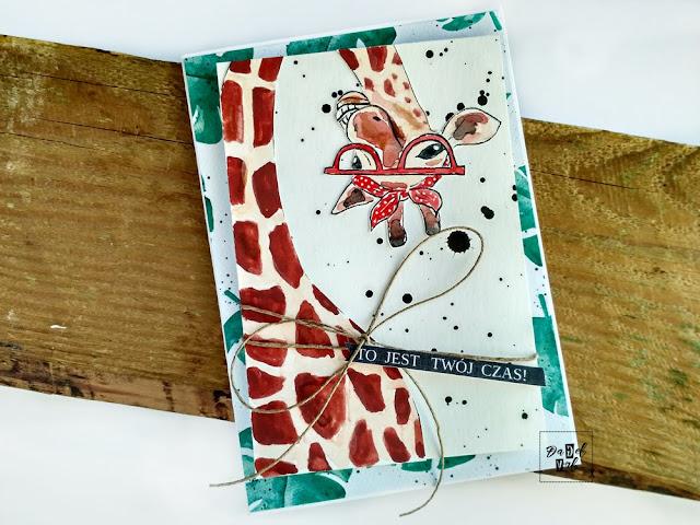 1626. Pin-up żyrafa
