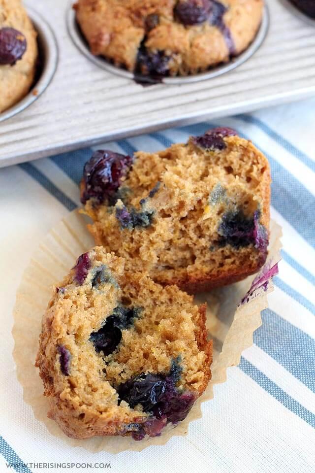 Best Moist Blueberry Sour Cream Muffins