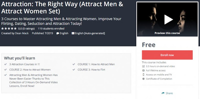 [100% Free] Attraction: The Right Way (Attract Men & Attract Women Set)