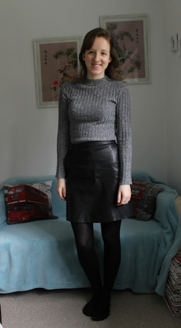 Winter Primark and Pull & Bear Haul, Grey, Roll Neck, Jumper, Charcoal, Grey Roll Neck Jumper, Primark,