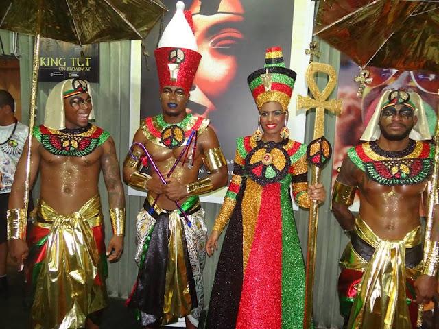 Bloco Afro Olodum homenageia o Egito