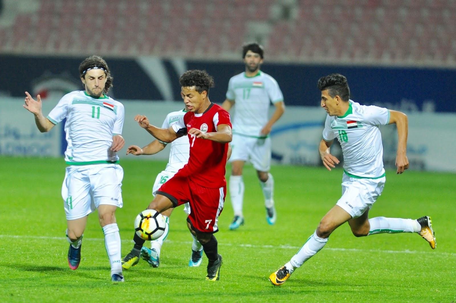 نتيجة مباراة العراق واليمن بتاريخ 11-08-2019 بطولة اتحاد غرب آسيا