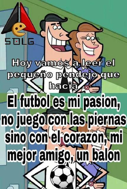 El futbol es mi pasion