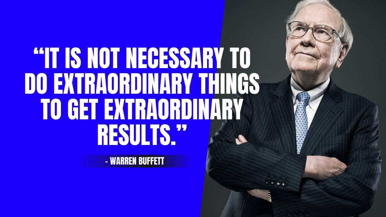 Warren Buffett Quotes about life