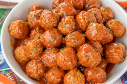BUFFALO RANCH MEATBALLS