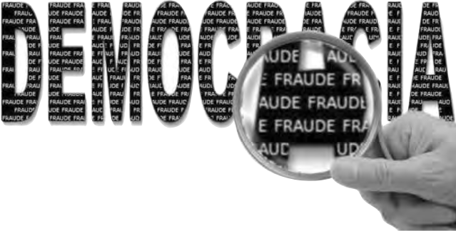 Resultado de imagem para democracia fraude