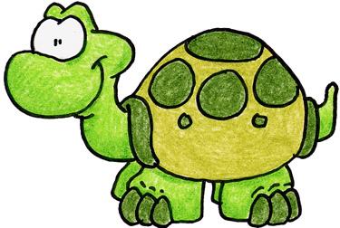 Tortugas Dibujos A Color
