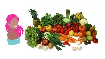 Eat plenty of fruit and veg