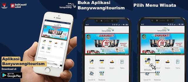 Aplikasi wisata Banyuwangi Tourism