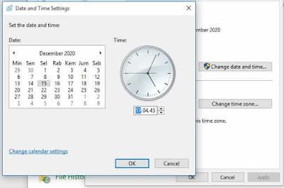 cara mengatur tanggal di laptop windows 8