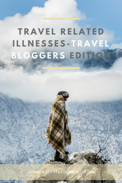 Ever gotten sick on the road? Want to know what to do? Read more about travel bloggers stories from the road.