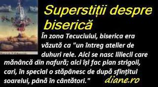 Superstiții despre biserică