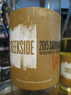Creekside Backyard Block Sauvignon Blanc 2015 - VQA Creek Shores, Niagara Peninsula, Ontario, Canada (88 pts)