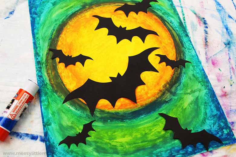 bat craft with bat template
