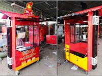 Gerobak dimsum unik Jasa pembuatan gerobak dimsum Gerobak unik Bandung