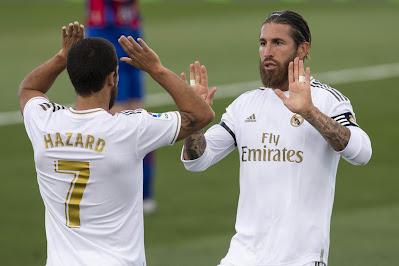 ريال مدريد ضد إلتشى.. عودة هازارد وراموس لقائمة الملكى