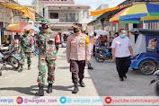 Kapolres bersama Dandim Enrekang Terjun Langsung Melaksanakan Operasi Yustisi
