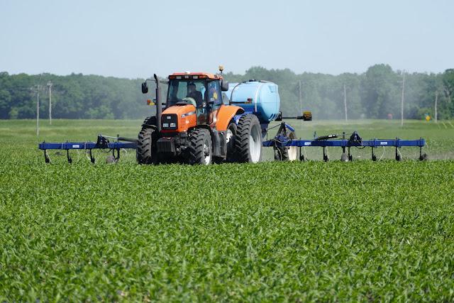 sidedress nitrogen corn split application fertilizer