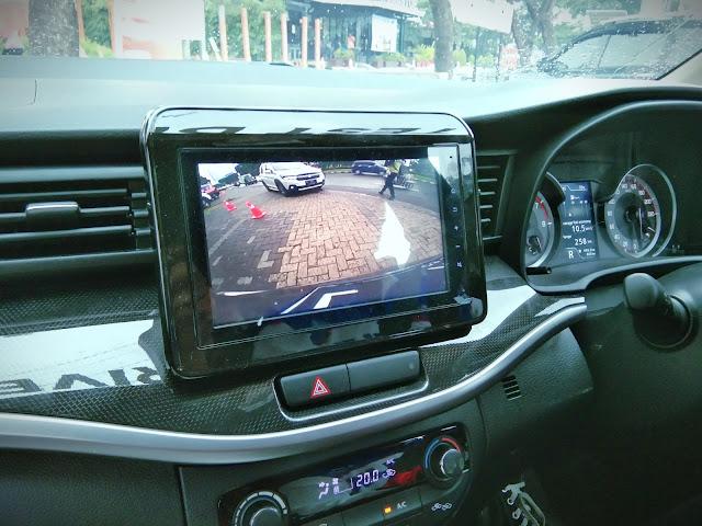 parking camera Suzuki XL7