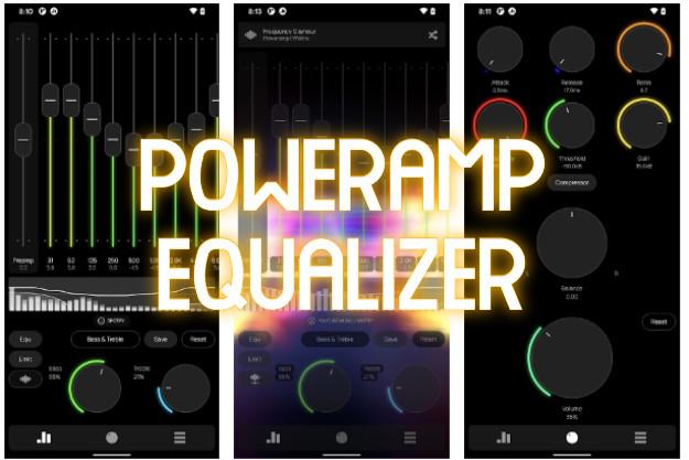 Poweramp Equalizer - Φέρε τον ήχο του Spotify, του YouTube και άλλων εφαρμογών στα μέτρα σου